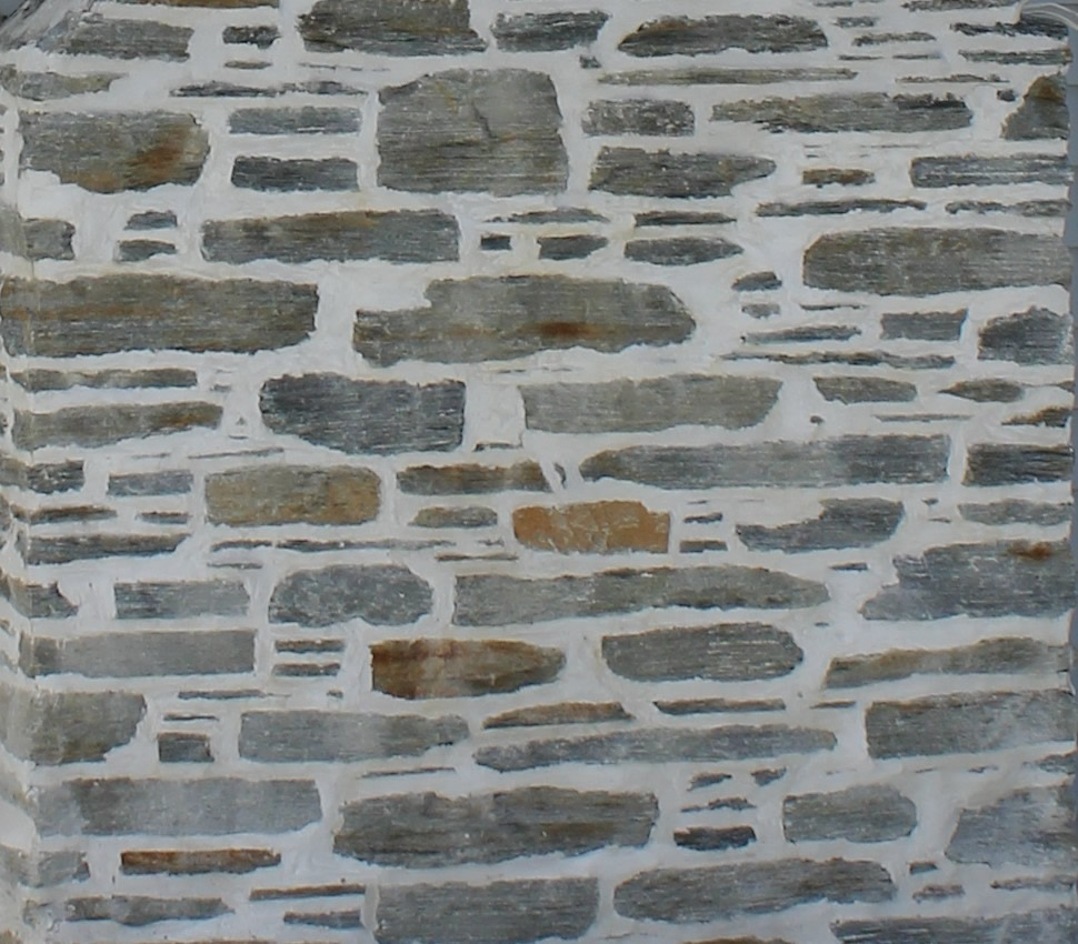 Gibston Grey mortared stone