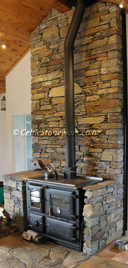 Stone Fireplace, Pirongia Mountain