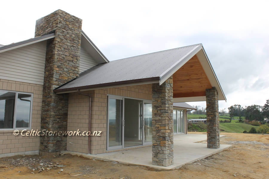 Photos Of Celtic Stone Work Waikato Stone Masons
