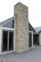 Schist Ida Grey Project for Downey Designer Homes show home on River Road Hamilton