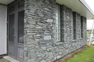 New Plymouth stone work job using Gibston Grey Schist